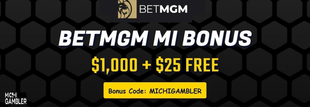 betmgm michigan casno bonus